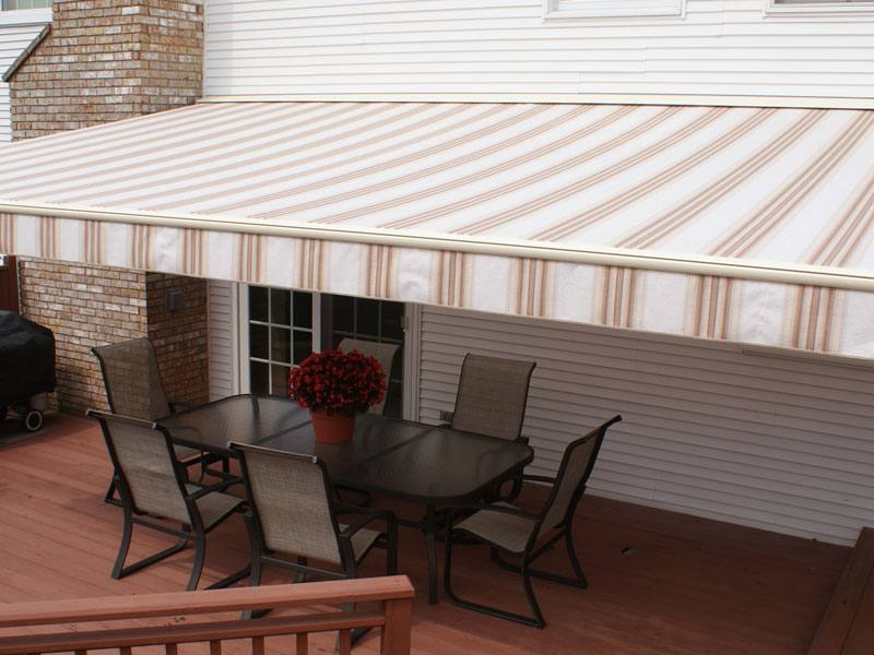 Retractable Awnings › Canvas Specialties ‹ Awnings in ...