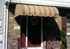 traditional door canopy