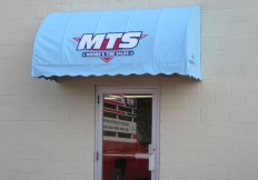 commercial door canopy