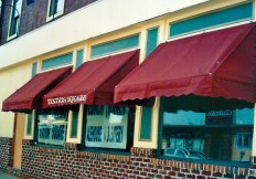 commercial window awnings