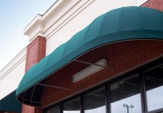 waterfall dome awning