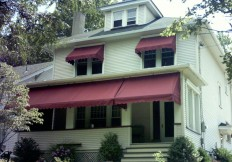 residential window and porch awnings