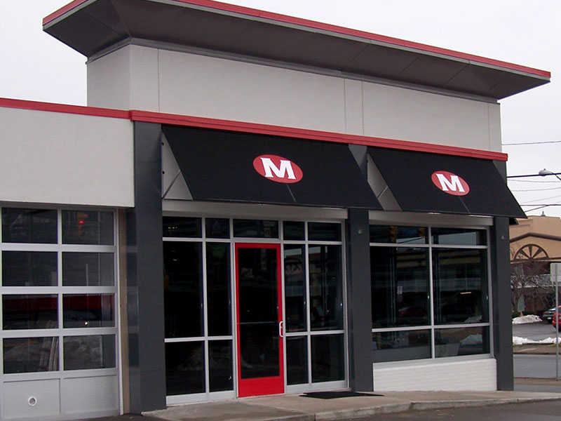 Commercial Awnings › Photogalleries › Canvas Specialties ...